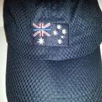 Thin Blue Line mesh cap