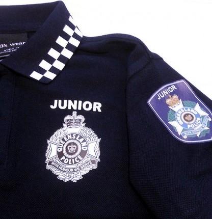 Junior Police POLO qpaa