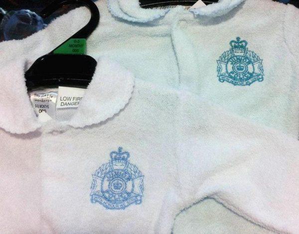 Baby suit boys white,light blue $15.95