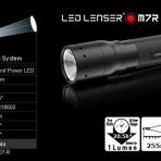 M7R Led Lenser Rechargeable Torch 220 Lumens